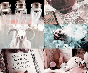 aesthetic, modern, and spells image