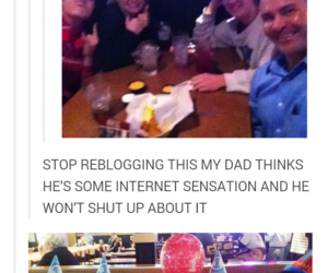 dad, funny, and tumblr image