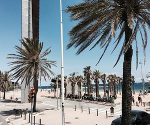 Barcelona, beach, and holiday image