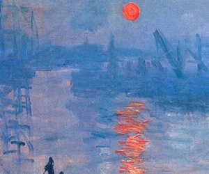 painting, claude monet, and monet image