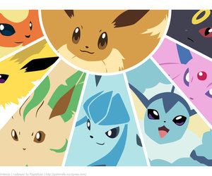 pokemon, eevee, and vaporeon image