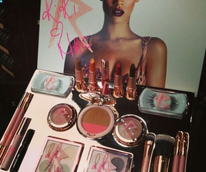mac, rihanna, and makeup image