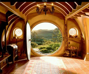 hobbit, LOTR, and shire image