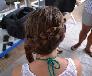 hair, braid, and cute image