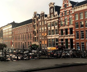 amsterdam, architecture, and buildings image