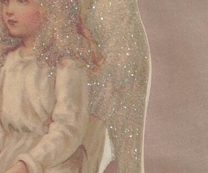 pale, pink, and angel image