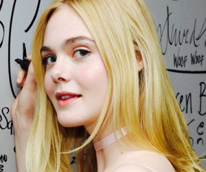 beauty and Elle Fanning image