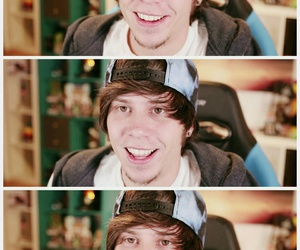 Collage, youtube, and rubius image