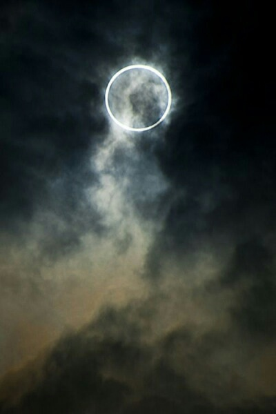 moon, sky, and eclipse image