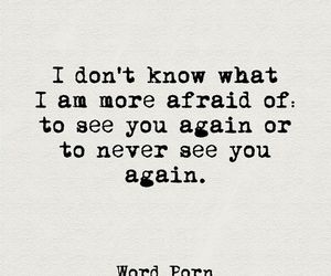 afraid image