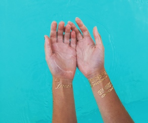 blue, body, and clear water image