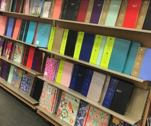 books, barnes and noble, and planners image