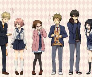 hyouka, kyoukai no kanata, and anime image