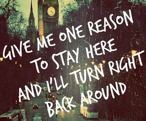 city, tracy chapman, and give me one reason image