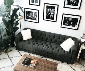 interior, living room, and fashion image