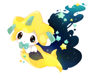 pokemon and jirachi image