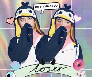 exo, penguin, and wallpaper image