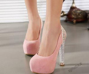 ebay, heels, and women's shoes image