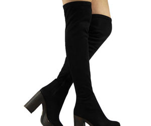 boots, ebay, and heels image