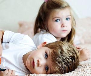 baby, boy, and girl image
