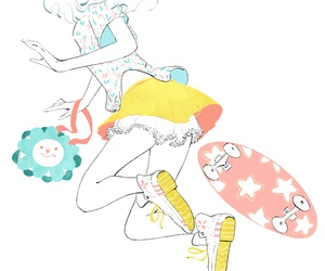 anime, draw, and kawaii image