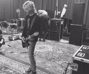 r5, ross lynch, and black and white image