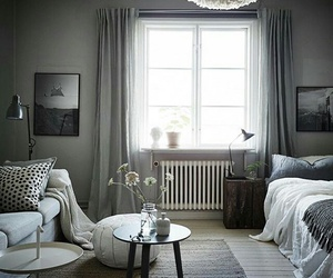 apartment, bedroom, and Scandinavian image