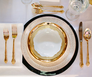 cook, decoration, and dishes image