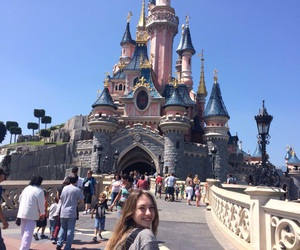 disney, france, and girl image