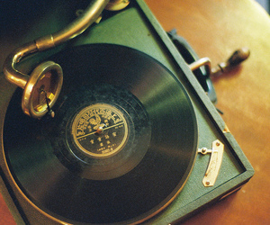 music, vintage, and old image