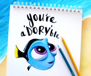 dory, cute, and art image