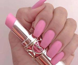 claws, lipstick, and cute image