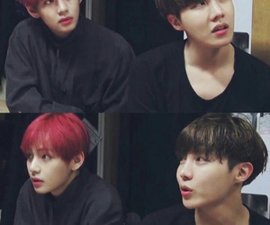 bts, jhope, and v image