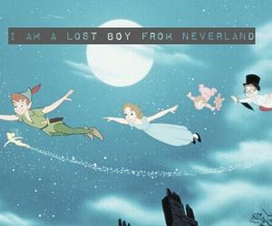 disney, peter pan, and song lyrics image
