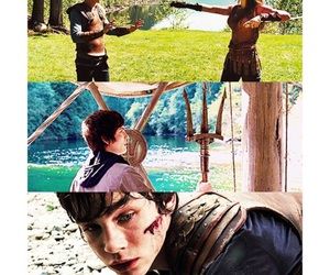 percy jackson, son of poseidon, and Collage image