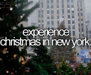 christmas, new york, and before i die image