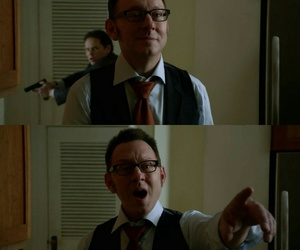 harold finch and person of interest image