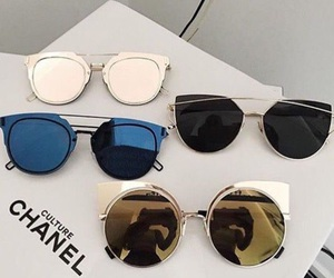 fashion, sunglasses, and chanel image