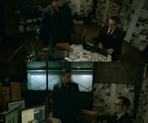 money, person of interest, and john reese image