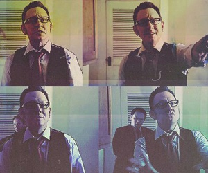 person of interest and harold finch image