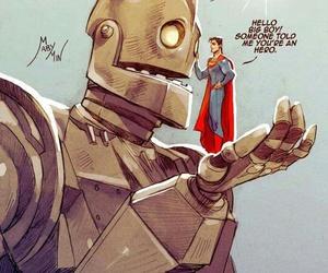 heroes, sad, and superman image