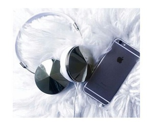 headset, phone, and style image