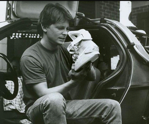 nike, Back to the Future, and marty mcfly image