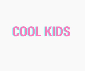 cool, edit, and kids image
