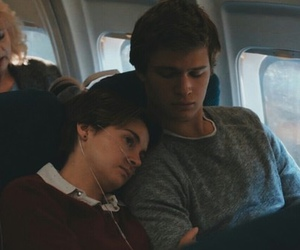 the fault in our stars, augustus waters, and couple image