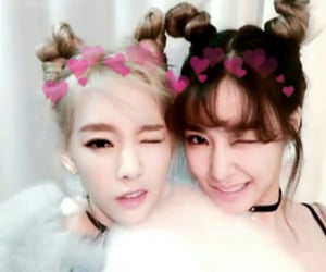 tiffany, taeyeon, and snsd image