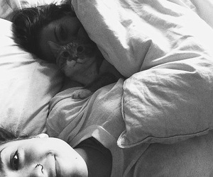 girl, cat, and lesbian image
