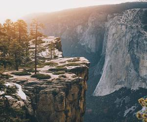 cliff, mountains, and nature image