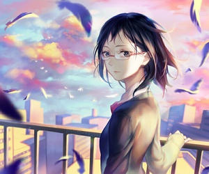 anime, haikyuu, and karasuno image