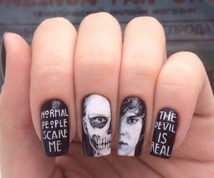 nails, american horror story, and ahs image